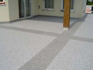 balkonbelag natursteinteppich balkonbeschichtung terrassenbelag steinteppich industrieboden. Black Bedroom Furniture Sets. Home Design Ideas
